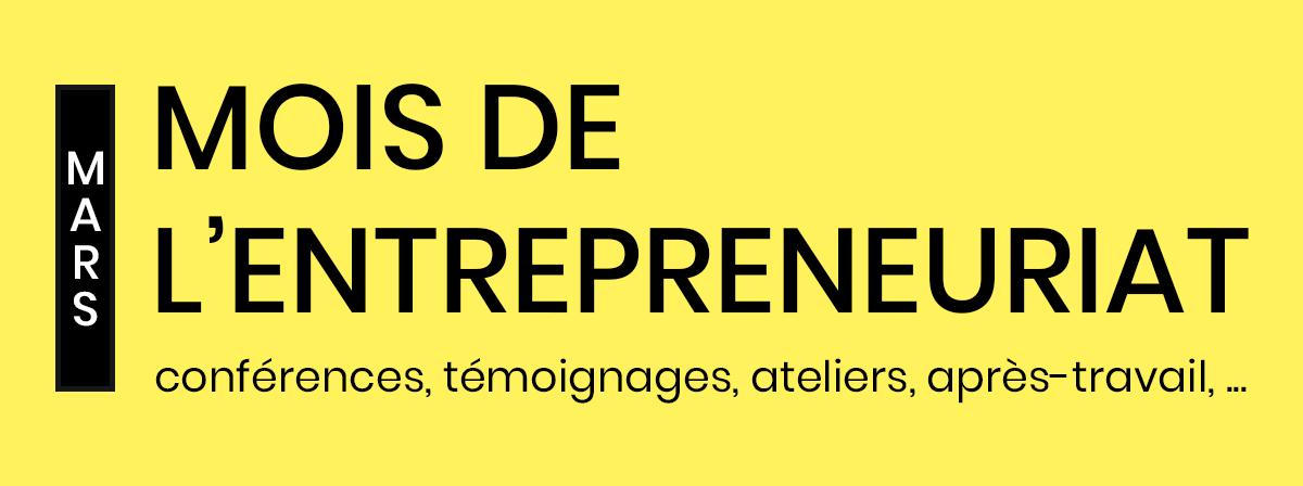 mois de l'entrepreneuriat
